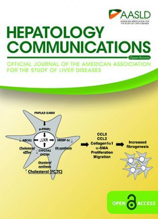 September 2019 cover for Hepatology Communications