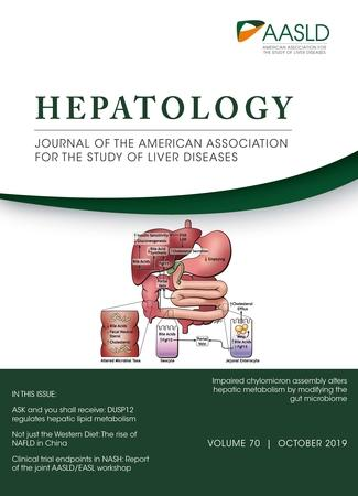 October 2019 cover for HEPATOLOGY