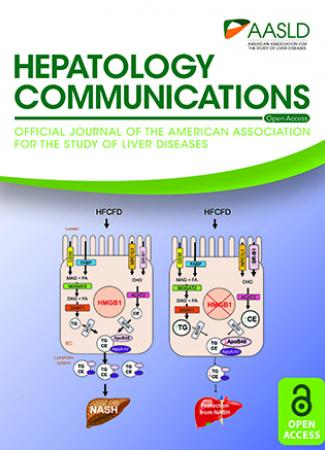 January 2020 cover of Hepatology Communications journal