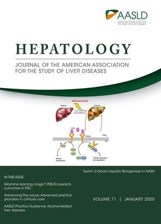 January 2020 cover for HEPATOLOGY