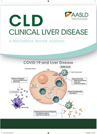 May 2020 cover of CLD - COVID-19 and the Liver