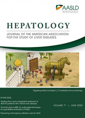 Cover of HEPATOLOGY June 2020