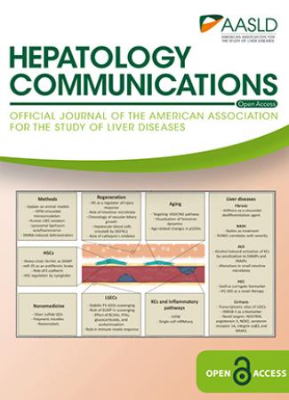 Cover of Hepatology Communications July 2020