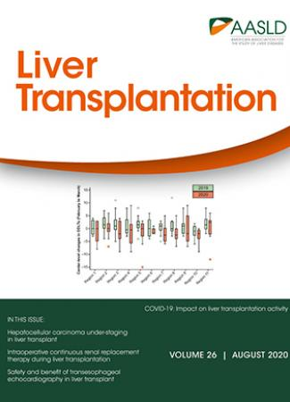Cover of Liver Transplantation - August 2020