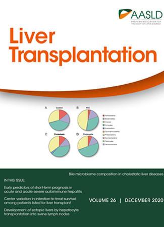Cover of Liver Transplantation - December 2020