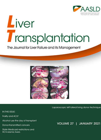 Cover of Liver Transplantation - January 2021