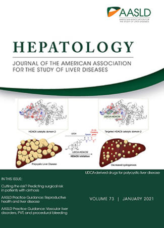 Cover of HEPATOLOGY - January 2021