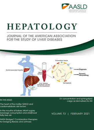Cover of HEPATOLOGY - February 2021