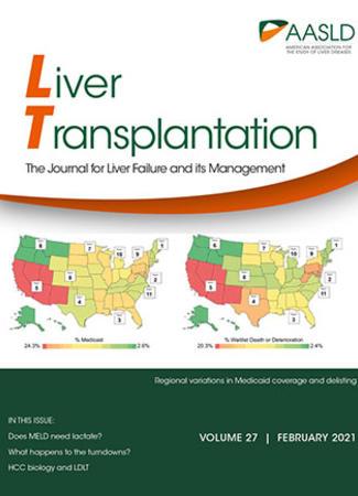 Cover of Liver Transplantation - February 2021
